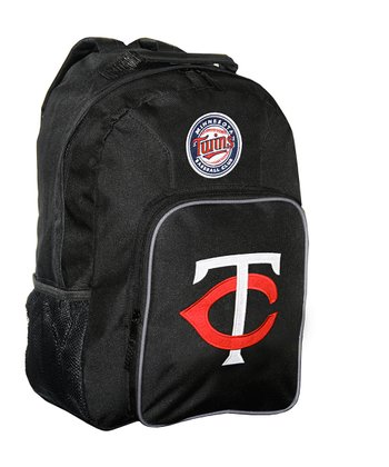 Black Minnesota Twins Southpaw Backpack