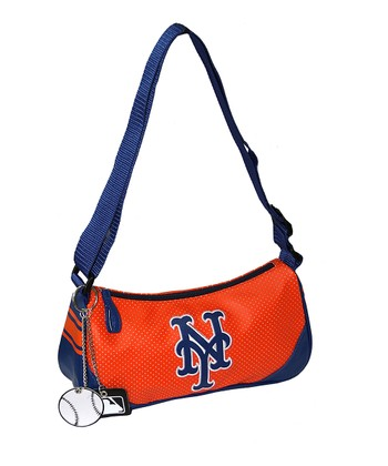 Orange New York Mets Helga Purse