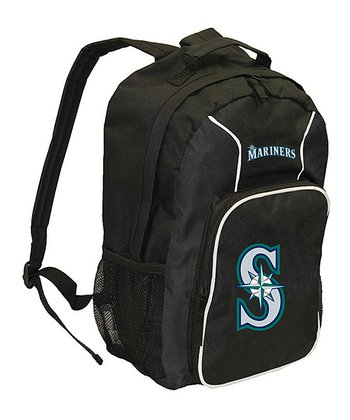 Black Seattle Mariners Southpaw Backpack