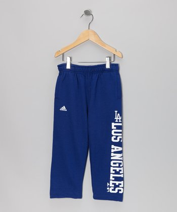 Navy Dodgers Pants - Toddler