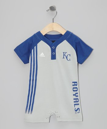 Blue Royals Jersey Romper - Infant