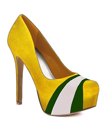 Oregon Ducks Suede Pump