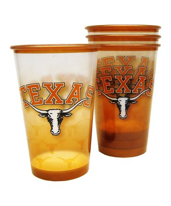 Texas Souvenir 20-Oz. Cup - Set of Four