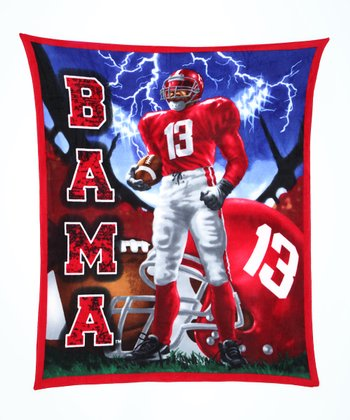 Alabama Warrior Fleece Blanket