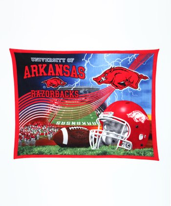 Arkansas Stadium Fleece Blanket