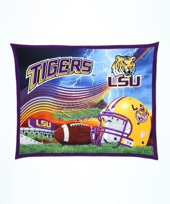 LSU Stadium Fleece Blanket