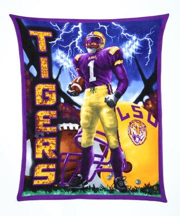 LSU Warrior Fleece Blanket