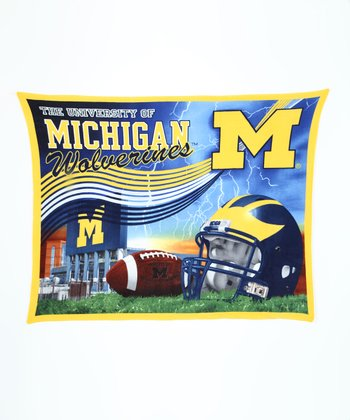 Michigan Stadium Fleece Blanket