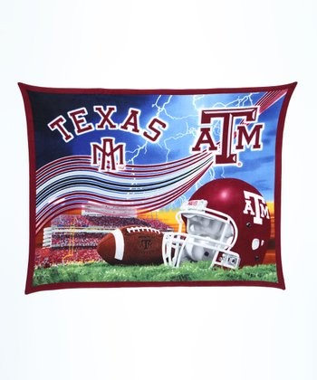 Texas A&M Stadium Fleece Blanket