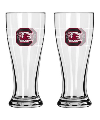 South Carolina Mini Pilsner Glass - Set of Two