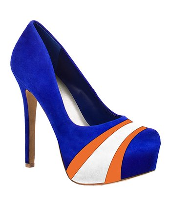 Florida Gators Suede Pump