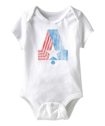 White BHA Bodysuit - Infant