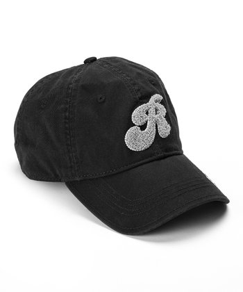 Oakland Raiders Black Chenille Baseball Cap