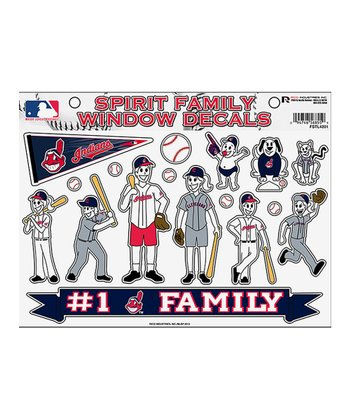 Cleveland Indians Family Decal Set