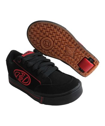 Black & Red Wave Sneaker