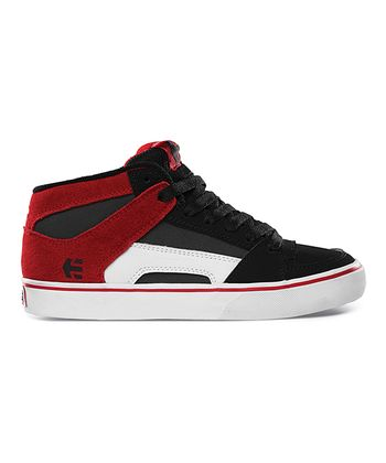 Black & Red RVM Vulc Hi-Top Sneaker