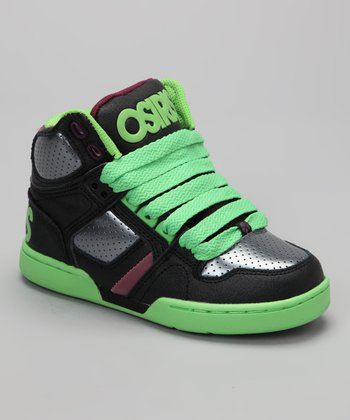 Green & Plum NYC 83 Hi-Top Sneaker