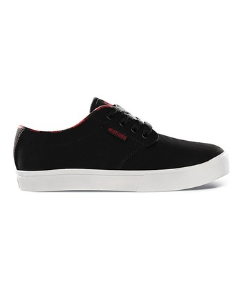 Black & Red Suede Jameson Sneaker
