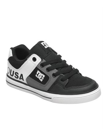 Black & Gray 'USA' Pure Sneaker