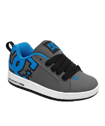Blue & Gray Court Graffik Sneaker