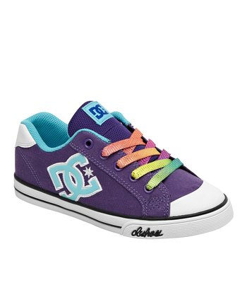 Purple & Light Blue Chelsea Sneaker