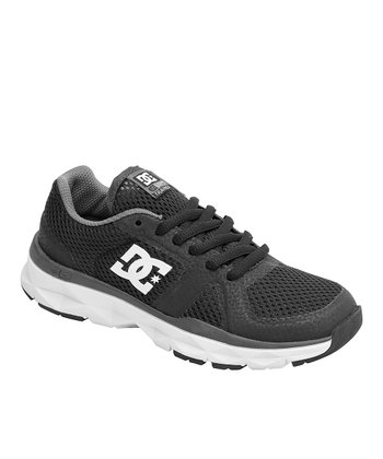 Black & White Unilite Trainer Sneaker