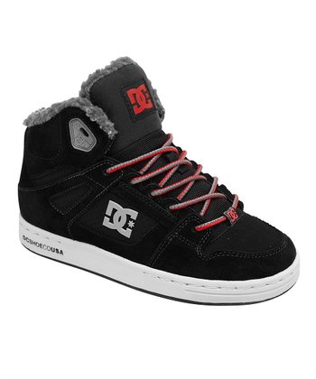 Black & Red Rebound Sneaker