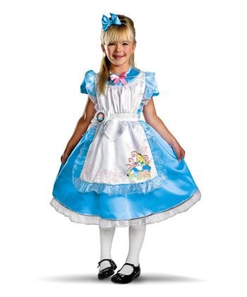 Blue Alice in Wonderland Deluxe Dress-Up Set - Toddler & Girls