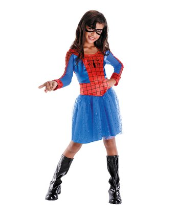 Spider-Girl Classic Dress-Up Set - Girls