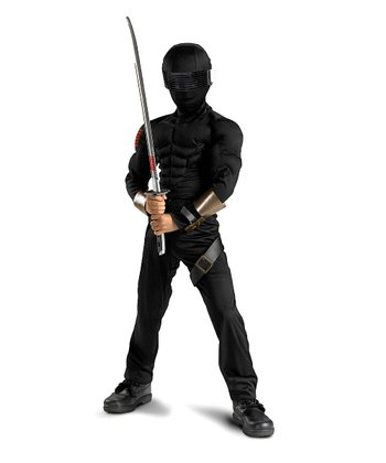 Snake Eyes Muscle Dress-Up Set - Kids