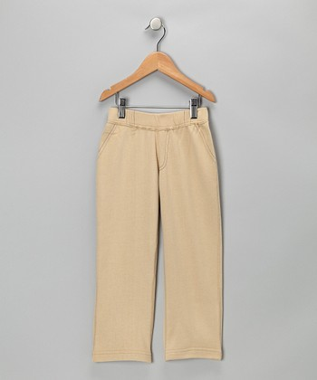 Khaki Chino Pants - Boys