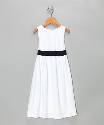 White Party Dress - Toddler & Girls