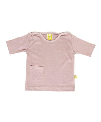 Mauve Organic Pocket Top - Infant