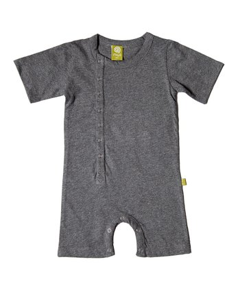 Charcoal Organic Cinco Romper - Infant