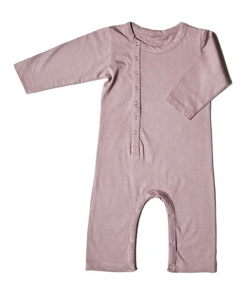 Mauve Una Organic Playsuit - Infant