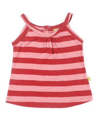 Rust Stripe Organic Kat Tank - Infant