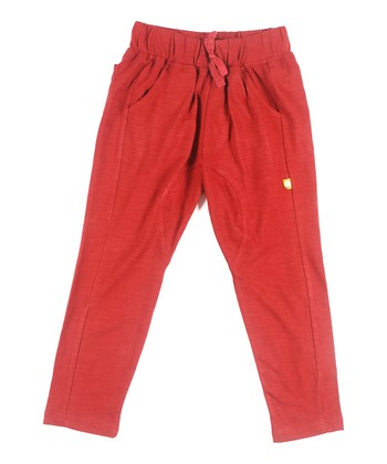 Rust Organic Nugget Jodphur Pants - Infant