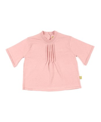 Pink Organic Flutter Top - Infant & Toddler