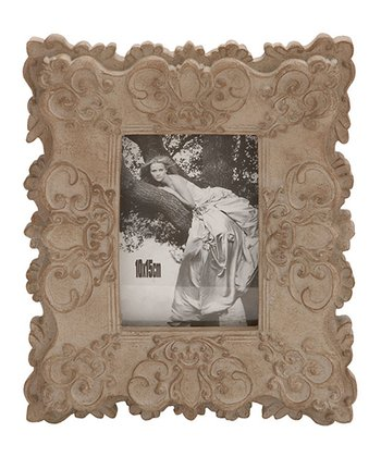 Taupe Small Scroll Picture Frame