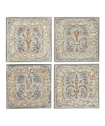 Fleur-de-Lis Variations Wall Décor Set