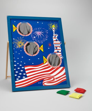 Patriotic Bean Bag Toss