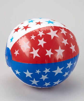 Patriotic Inflatable Ball - Set of 12