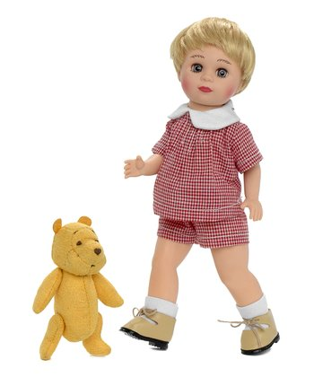 Christopher Robin & Pooh Doll Set
