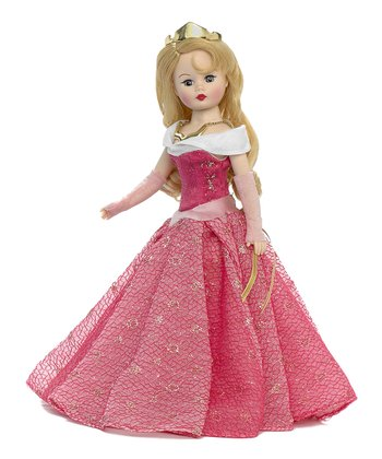 Pink & Gold Sleeping Beauty Doll