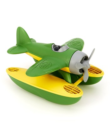 Green & Yellow Seaplane
