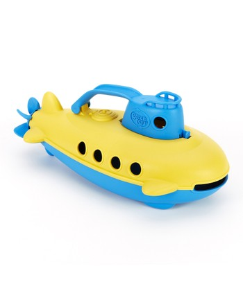 Blue & Yellow Recycled Submarine