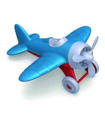 Blue Recycled Airplane