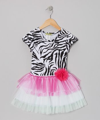 Zebra Cakes Tutu Dress - Infant, Toddler & Girls