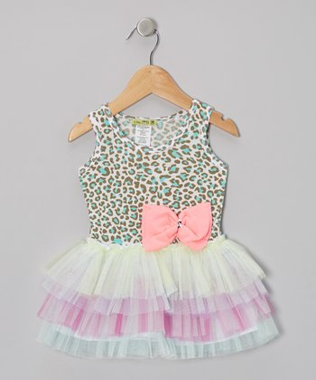 Mint Aqua Leo Tutu Dress - Infant, Toddler & Girls