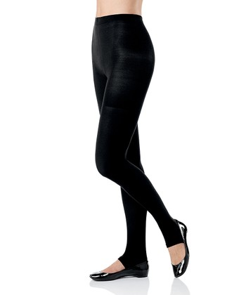Tight-End Tights Convertible Leggings - Black